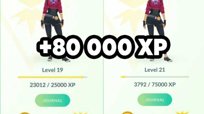 Power Exping (Leveling): Lucky egg + Evolve