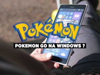 Pokemon Go na Windows Phone
